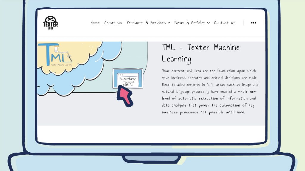 TML – Texter Machine Learning