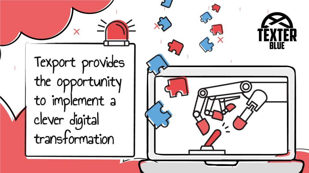 Texport - A clever digital transformation.